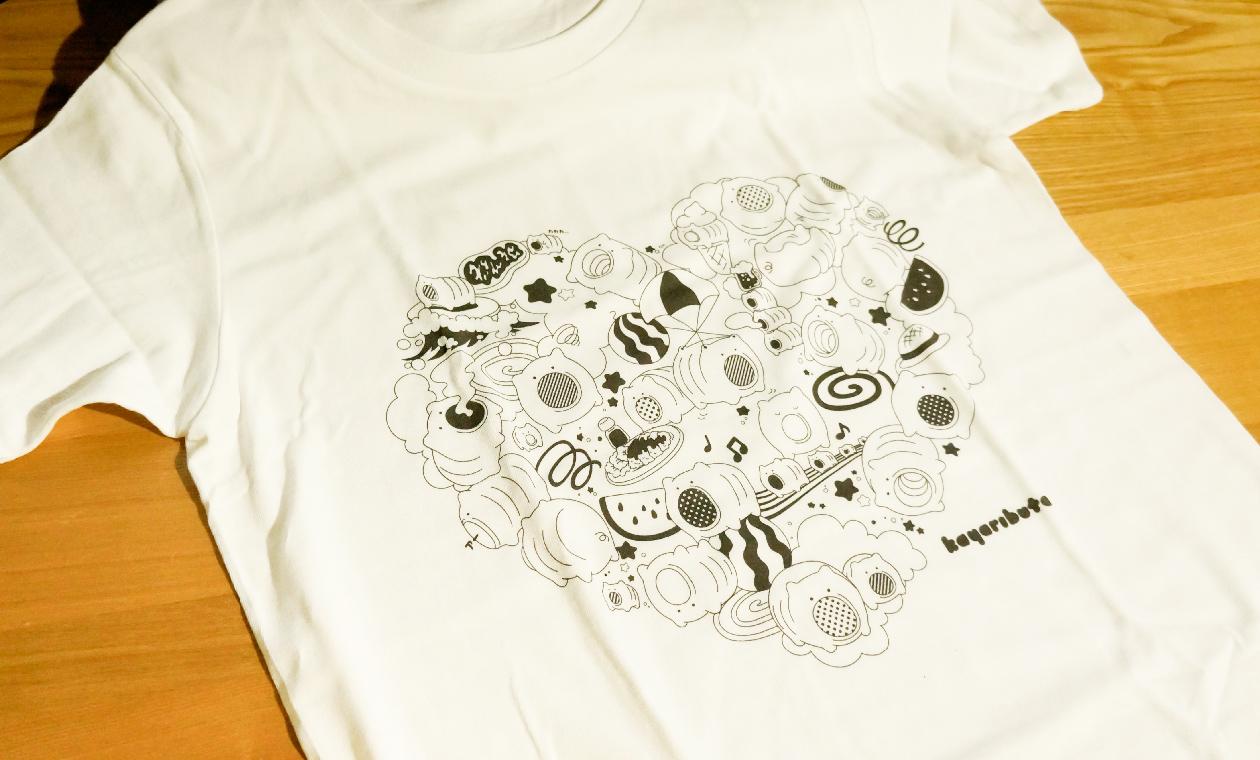 kayaributaのTシャツもできた