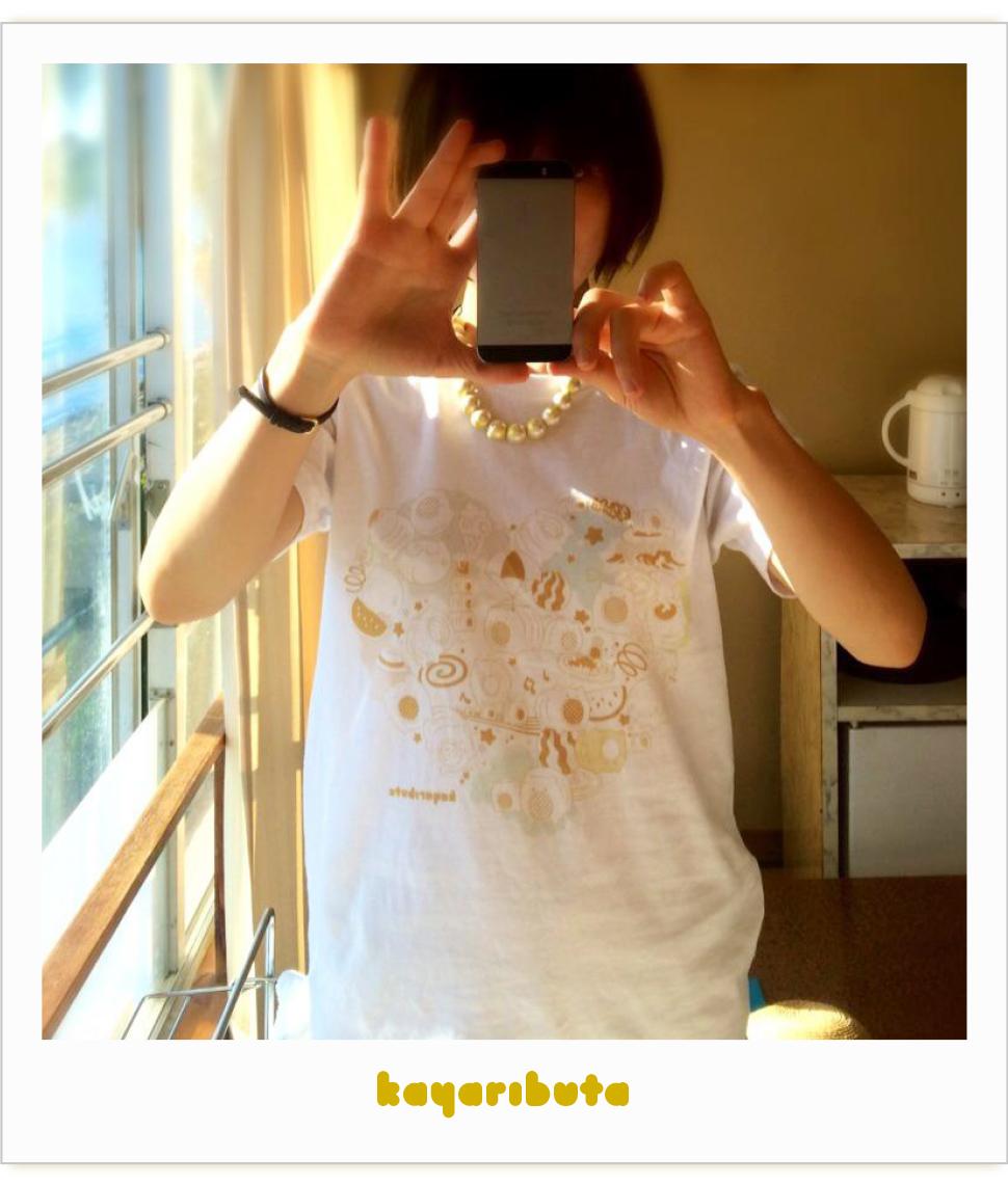 SUZURIのTシャツ spicagraphさんが着てみた