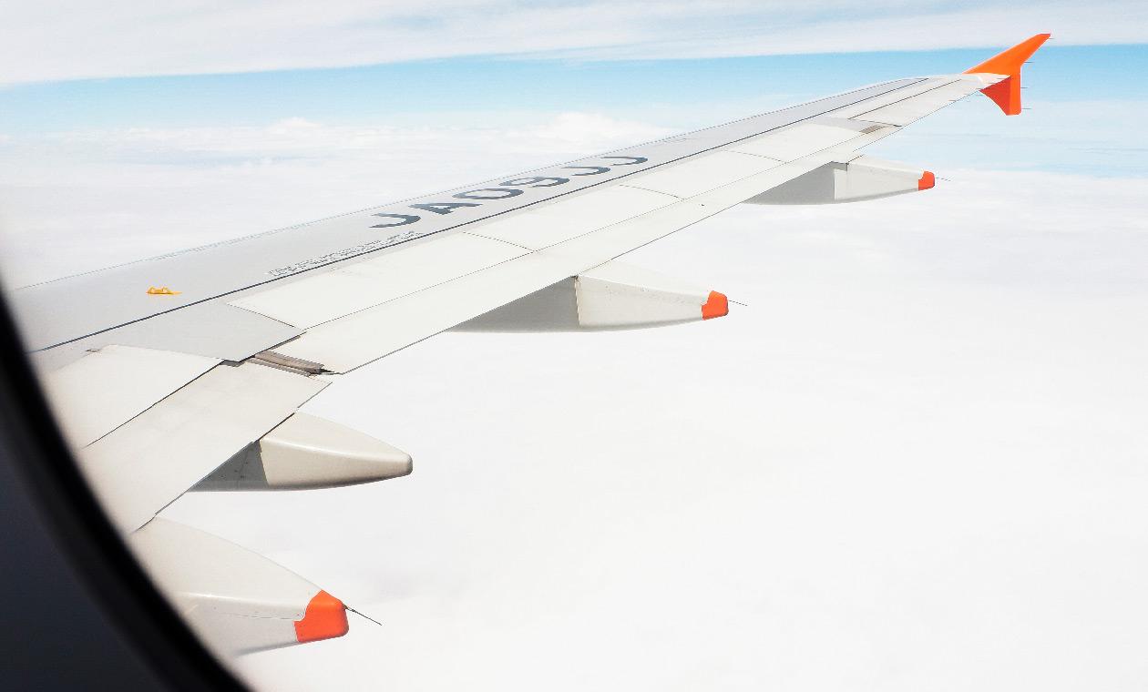 飛行機からの眺め その3