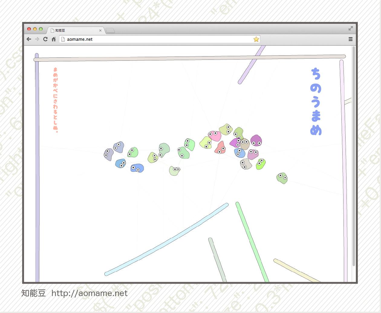 知能豆(ちのうまめ)ゲーム画面キャプチャー画像