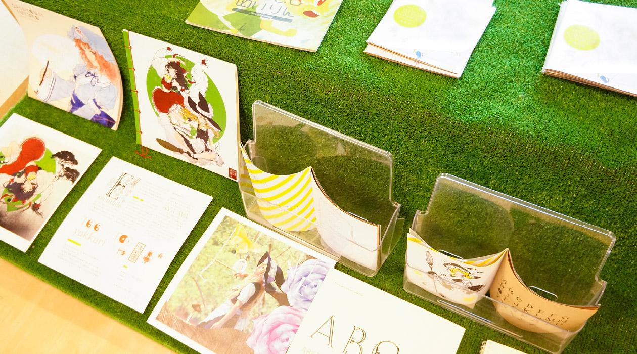 【文字フリマ】〜森 賢人さんのお店〜 かわいいキャラクター書体化本がいっぱい