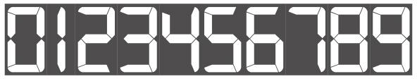 【フォントつかってみた】7LEDという7セグメントフォント。商用利用は作者さんにカンパ(寄付)することで使用が可能。