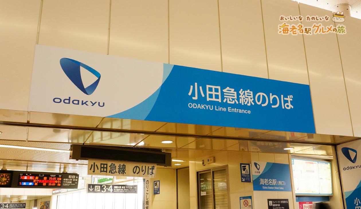【海老名ちょっぴりタイポな旅】小田急線海老名駅改札