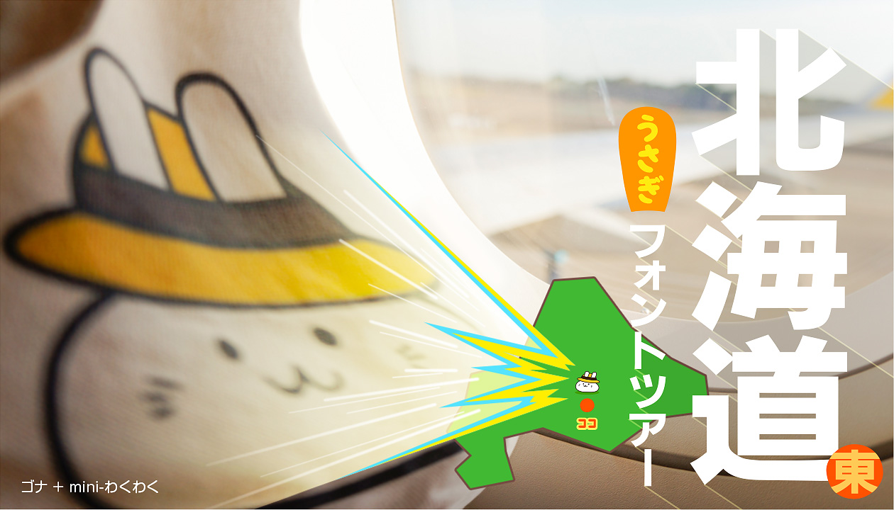 【北海道フォント旅行①】バニラエア&バスで1泊2日☃冬の旅(フライトごはん~ご当地コンビニグルメ篇)